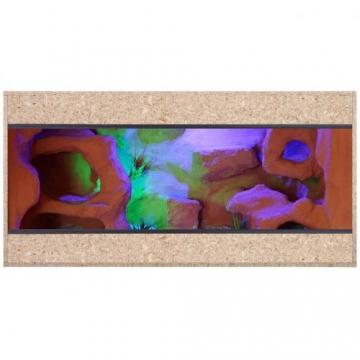 Holzterrarium 120x60x60cm mit Seitenbelüftung -