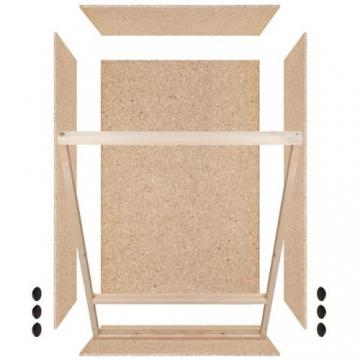 Holzterrarium mit Seitenbelüftung 60x120x60cm -