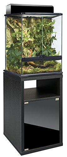 exo terra terrarienkombi 45x45x60 glasterrarium inkl unterschrank. Black Bedroom Furniture Sets. Home Design Ideas