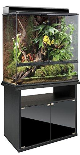 exo terra terrarienkombi 90x45x90 glasterrarium inkl unterschrank. Black Bedroom Furniture Sets. Home Design Ideas