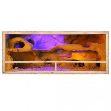 Holzterrarium 120x80x60cm Seitenbelüftet -