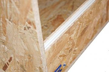 OSB Holzterrarium mit Seitenbelüftung 100x60x60cm -