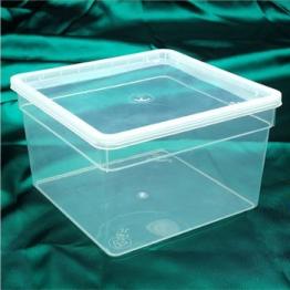 Kunststoff - Stapelboxen 19x19x12 cm -