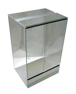 Glasterrarium für Schlangen, Geckos und Chamäleons