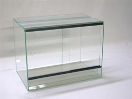 Glasterrarium in der Größe 60x30x40cm