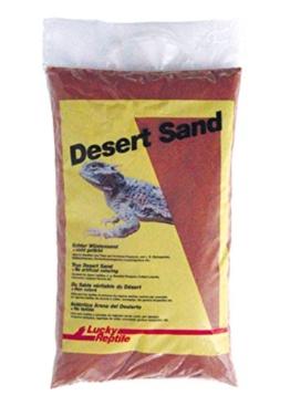 Lucky Reptile LSR-5 Namibia Red Wüstensand 5 kg, Bodengrund für Wüstenterrarien, rot - 1