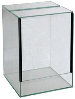 FavoPet Terrarium mit Falltür (20x20x40 cm) - 1
