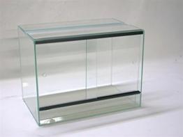 Terrarium 40x30x35 cm mit Schiebetür, Glasterrarium, Spinnen, Gekkos, Insekten, Amphibien, Skorpion - 1
