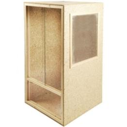 Holz Terrarium Holzterrarium Hochterrarium 60x120x60cm Seitenbelüftet und Deckenbelüftung Chamäleon - 1