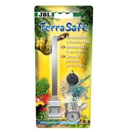 JBL TerraSafe 61516 Terrarienschloss für alle Glasscheiben mit 3-6 mm Stärke, Inkl. 2 Schlüssel - 1