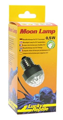 Lucky Reptile ML-1 Moon Lamp, Mondlicht LED Lampe für E27 Fassung - 1