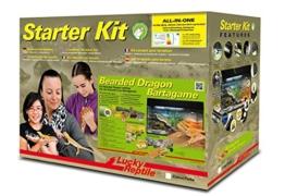 "Lucky Reptile SK80BD-B Starter Kit ""Bartagame"", 80 cm, weiß - 1"