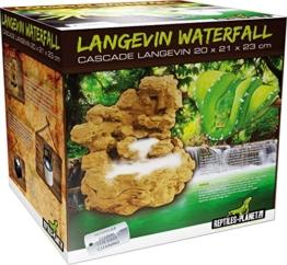 Reptiles Planet Wasserfall für Terrarium Reptilien Langevin mit Pumpe - 1