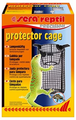 sera 32030 reptil protector cage schützt Reptilien vor Verbrennungen - 1
