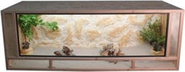 Tropic-Shop OSB Terrarium - Holzterrarium - Front aus massiven Fichtenhholzrahmen - Made In Germany !! (140x60x60cm) - 1