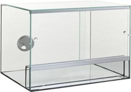Glas Terrarium + Belüftung 40x30x30 cm 30 40 Schiebetür - 1