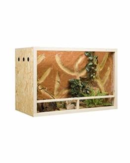 Holzkonzept OSB-Terrarium 150 x 60 x 60 cm Seitenbelüftung - 1