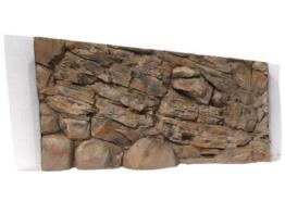 Aquarium Rückwand 3D Felsen 120x60 bei Robizoo - 1