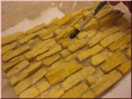 Wüstenfelsen Bausteine Ocker, 2 Tüten je 25 Bausteine - 1